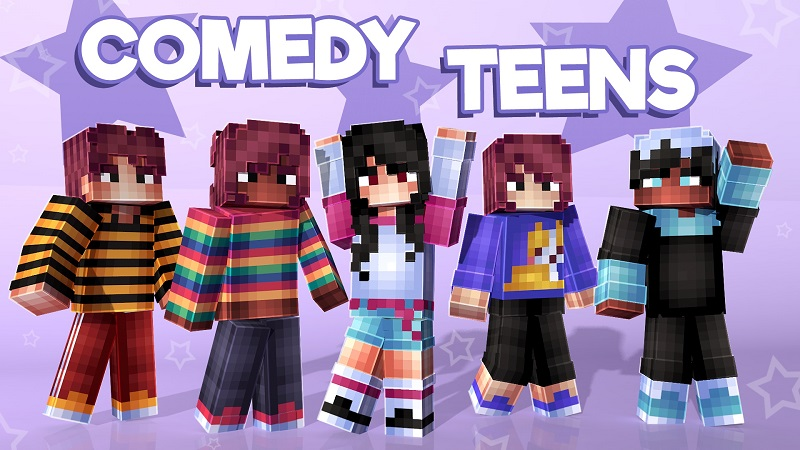 Comedy Teens on the Minecraft Marketplace by Nitric Concepts