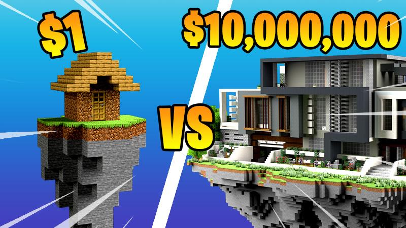SKYBLOCK MILLIONAIRE on the Minecraft Marketplace by 4KS Studios