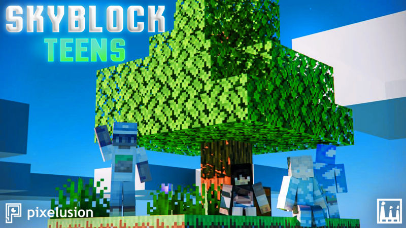 Skyblock Teens on the Minecraft Marketplace by Pixelusion