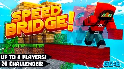 Speed Bridge Challenge on the Minecraft Marketplace by GoE-Craft