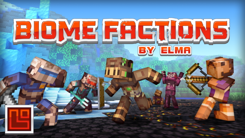 Biome Factions on the Minecraft Marketplace by Pixel Squared