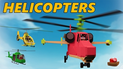 Helicopters on the Minecraft Marketplace by Lifeboat