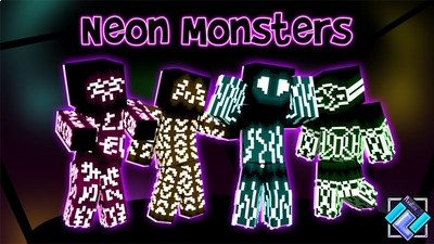 Neon Monsters  on the Minecraft Marketplace by PixelOneUp