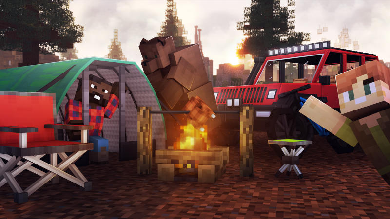 Camping on the Minecraft Marketplace by 57Digital