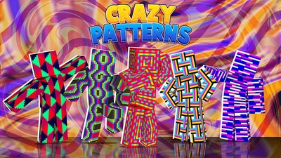 Crazy Patterns on the Minecraft Marketplace by Dig Down Studios