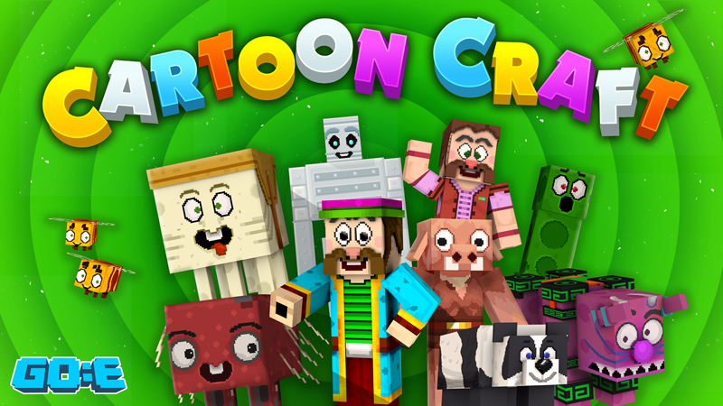 Cartoon Craft on the Minecraft Marketplace by GoE-Craft