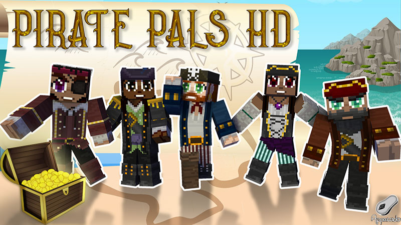 Pirate Pals HD on the Minecraft Marketplace by Appacado