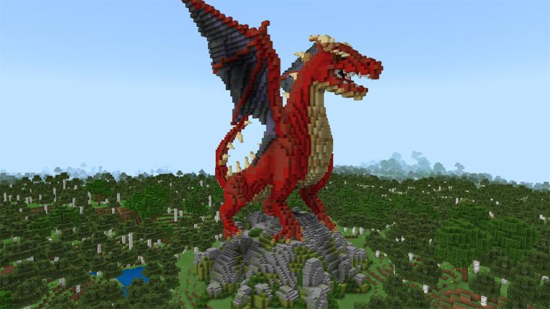 Dragon Secret Base by Diluvian
