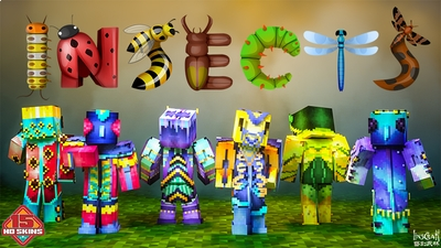 INSECTS HD on the Minecraft Marketplace by LinsCraft