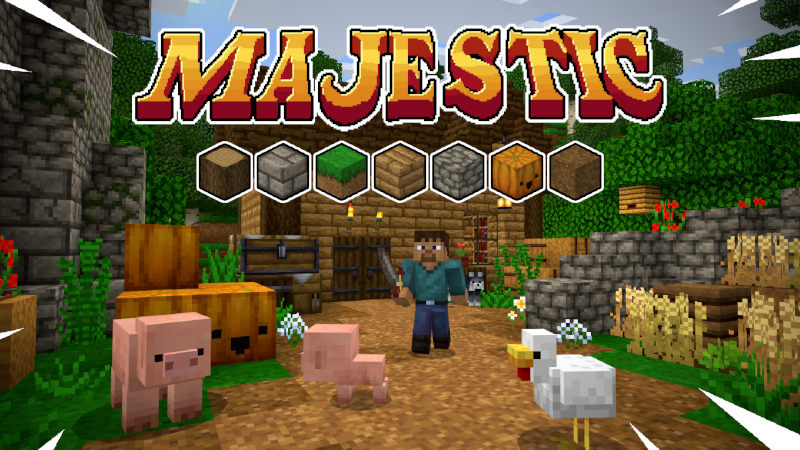 Majestic Texture Pack In Minecraft Marketplace Minecraft