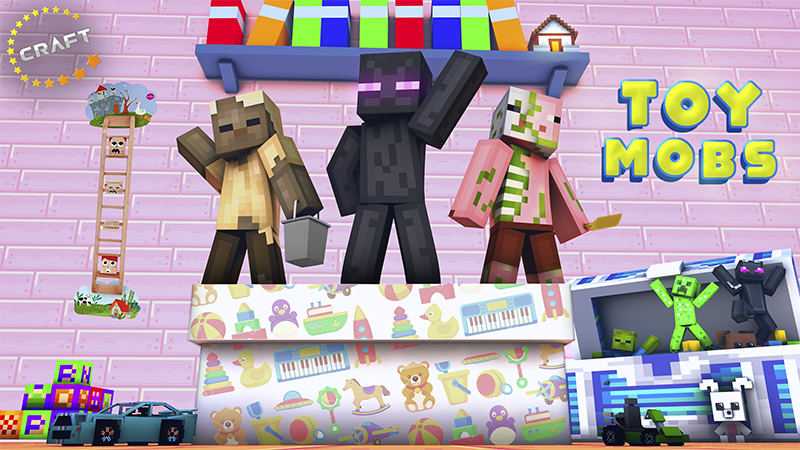 Toy Mobs on the Minecraft Marketplace by The Craft Stars