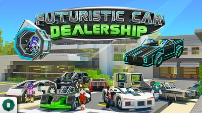 Futuristic Car Dealership on the Minecraft Marketplace by Octovon