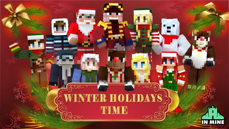 Winter Holidays Time on the Minecraft Marketplace by In Mine