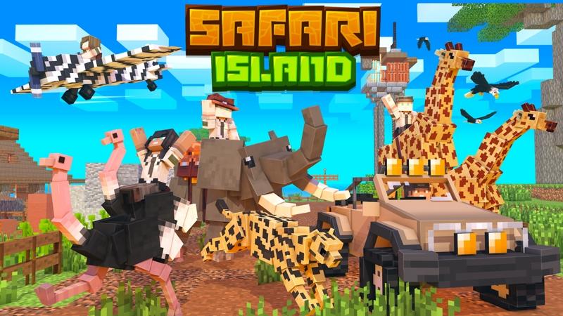 Safari Island on the Minecraft Marketplace by HorizonBlocks