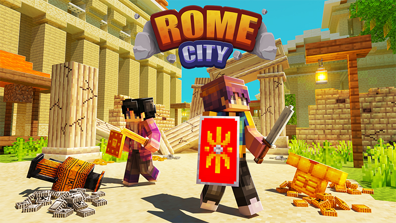 Rome City on the Minecraft Marketplace by Kreatik Studios