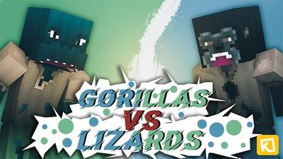 Gorillas Vs Lizards on the Minecraft Marketplace by Kuboc Studios