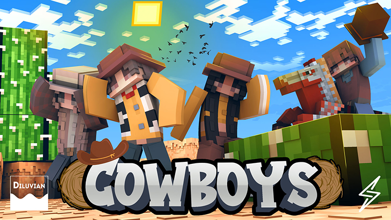 Cowboys on the Minecraft Marketplace by Diluvian