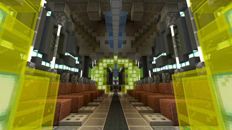 Spaceport 0077 on the Minecraft Marketplace by Shaliquinn's Schematics