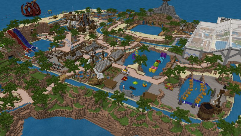 Water Park (Pirates Island) by Cubed Creations