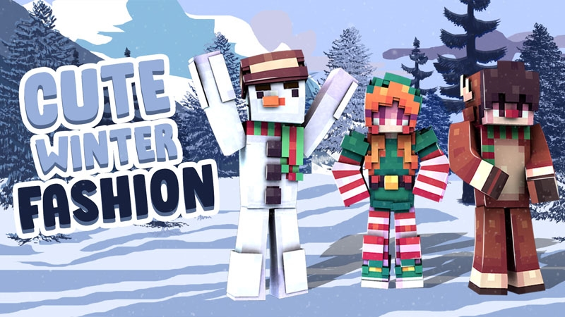 Cute Winter Fashion on the Minecraft Marketplace by Kubo Studios