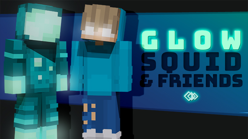 Glow Squid And Friends on the Minecraft Marketplace by Tetrascape