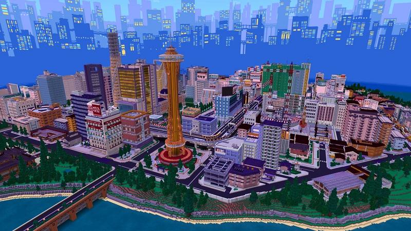 City Skyline by Cyclone
