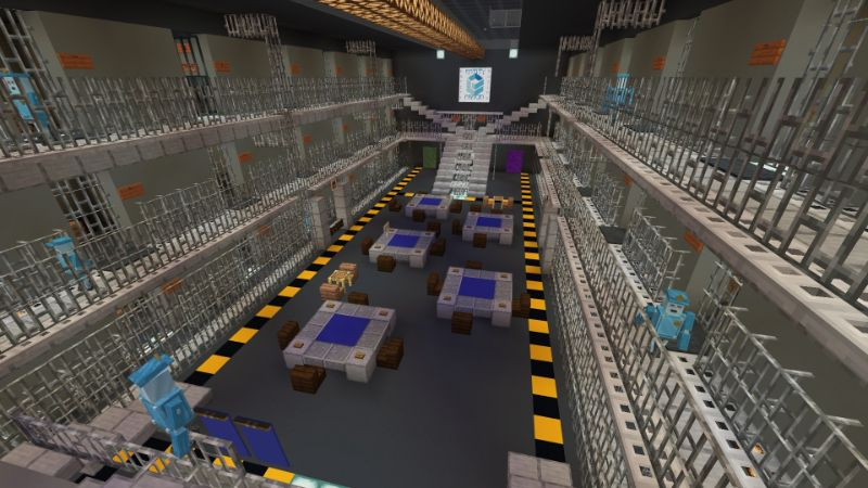 Escape Room: Prison Escape on the Minecraft Marketplace by Entity Builds