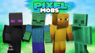Pixel Mobs HD Skin Pack on the Minecraft Marketplace by CupcakeBrianna