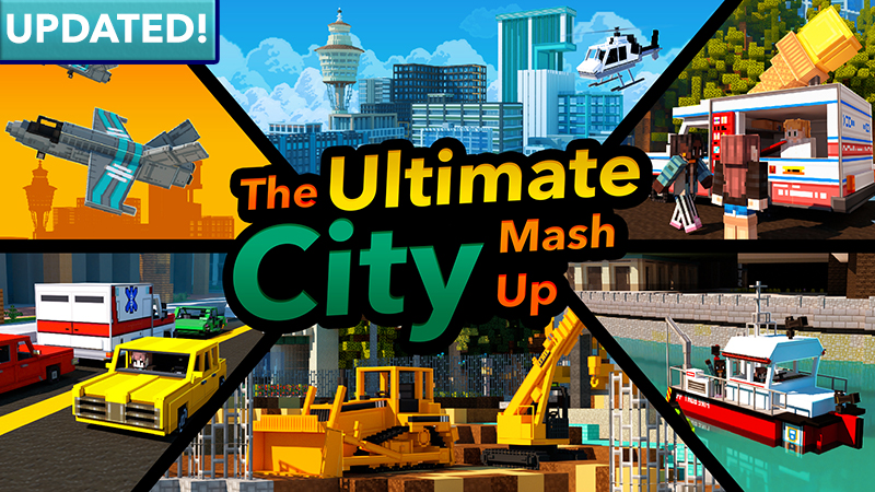 The Ultimate City MashUp on the Minecraft Marketplace by Minetite