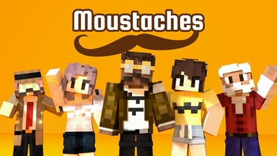 Moustaches on the Minecraft Marketplace by Cubed Creations