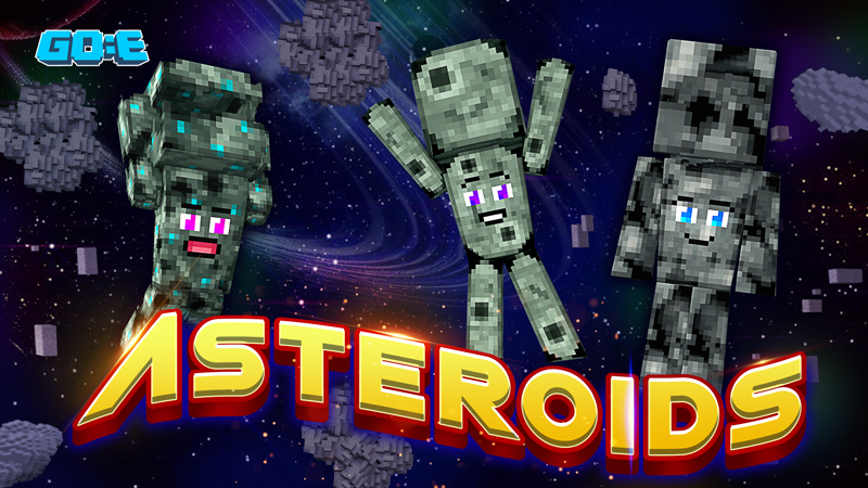 Asteroids on the Minecraft Marketplace by GoE-Craft