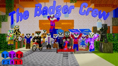 The Badger Crew on the Minecraft Marketplace by Blocks First