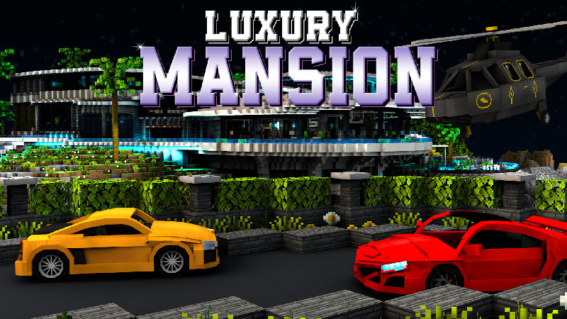 Luxury Mansion on the Minecraft Marketplace by Impulse