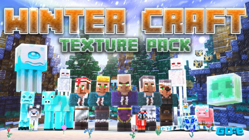 Winter Craft  Texture Pack on the Minecraft Marketplace by GoE-Craft