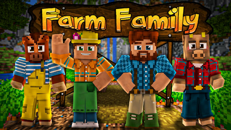 Farm Family on the Minecraft Marketplace by BLOCKLAB Studios