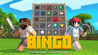 Bingo on the Minecraft Marketplace by BLOCKLAB Studios