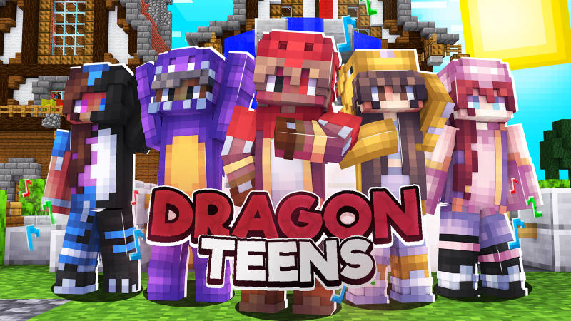 Dragon Teens on the Minecraft Marketplace by BLOCKLAB Studios