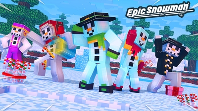 Epic Snowman on the Minecraft Marketplace by Glowfischdesigns