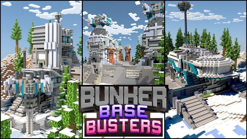 Bunker Base Busters on the Minecraft Marketplace by 4KS Studios