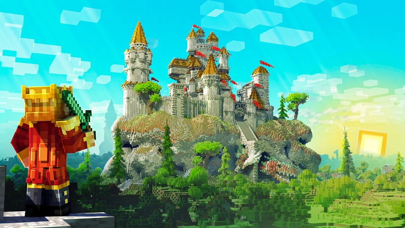 Medieval Castle on the Minecraft Marketplace by BBB Studios