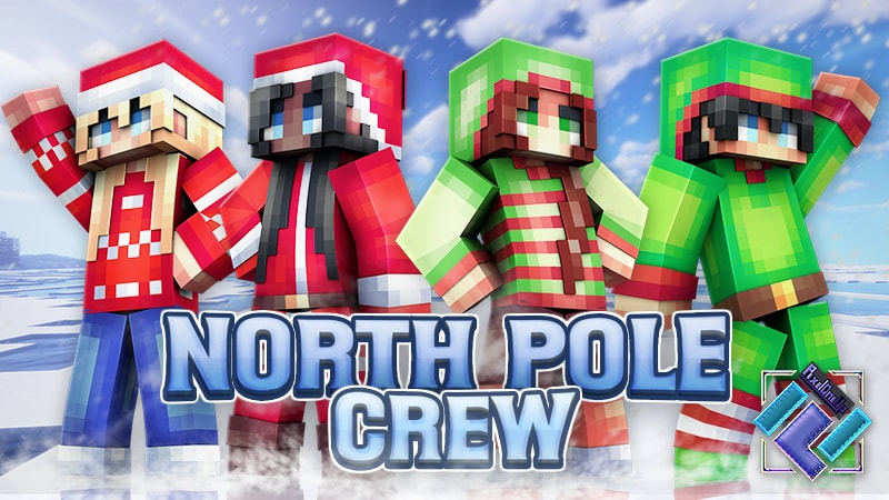 North Pole Crew on the Minecraft Marketplace by PixelOneUp