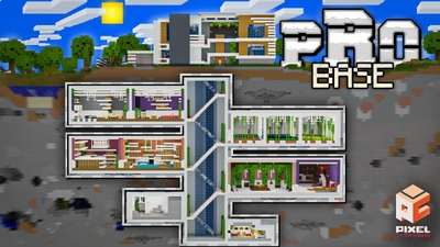 Pro Base on the Minecraft Marketplace by BLOCKLAB Studios