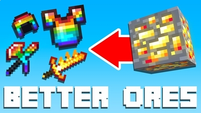 Better Ores on the Minecraft Marketplace by BBB Studios
