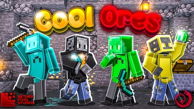 Cool Ores on the Minecraft Marketplace by Netherpixel