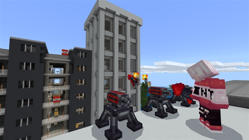 TNT City on the Minecraft Marketplace by Kubo Studios