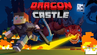 Dragon Castle on the Minecraft Marketplace by Diluvian