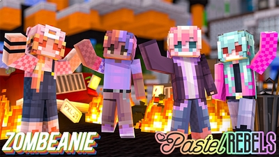Pastel Rebels on the Minecraft Marketplace by Zombeanie