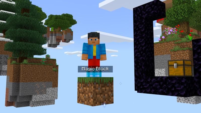 ONE BLOCK SKYBLOCK by SNDBX