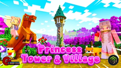 Princess Tower  Village on the Minecraft Marketplace by G2Crafted