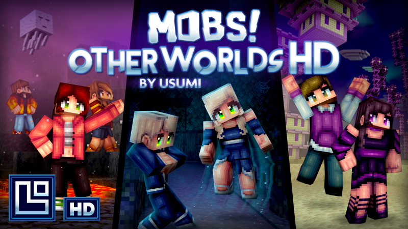 Mobs Otherworlds HD on the Minecraft Marketplace by Pixel Squared